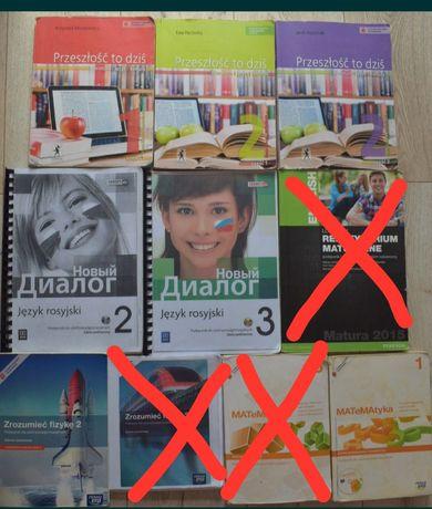 Książki podręczniki do liceum klasy 1, 2, 3