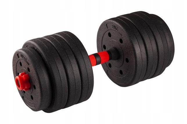 ZESTAW 2 HANTLI Bitumicznych 30kg Obciążenia