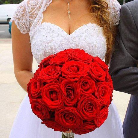 Suknia ślubna princess rozmiar 34-38