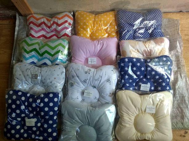 Бабочка-подушка для новорожденного. Подушка в коляску, кроватку, кокон