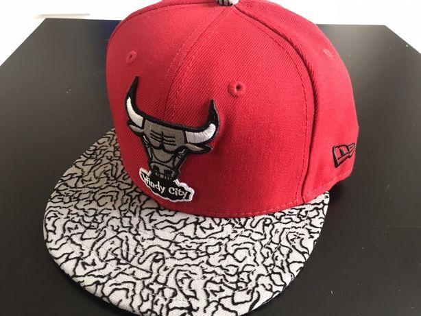Kolekcjonerska czapka new era chicago bulls