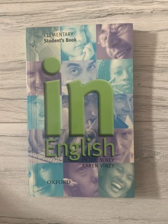 """Elementary student's book """"in English"""" OXFORD"""