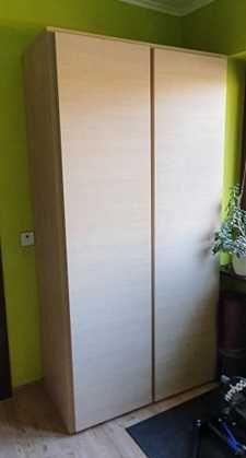 Megapojemna szafa ubraniowa BRW Doors