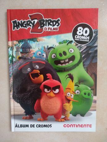 Caderneta vazia da coleção Angry Birds 2