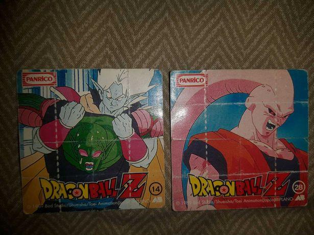 2 Desdobráveis dragon ball