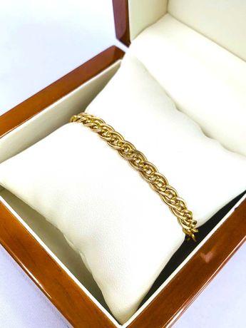 Złota bransoletka pr.585 - Plus Lombard