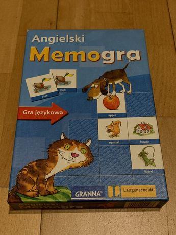 Gra planszowa Memogra Angielski do nauki języka angielskiego