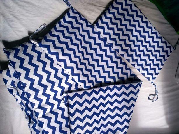 Бортики на детскую кроватку для новорожденного