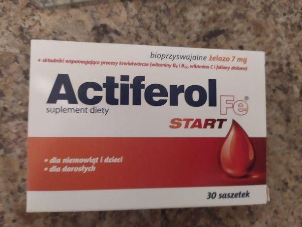 Actiferol Start FE 30 saszetek 7 mg żelazo witaminy