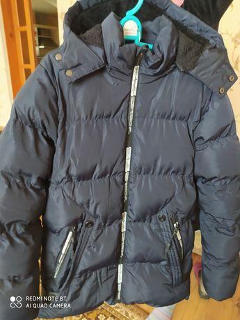 Куртка удлиненная зима мальчику