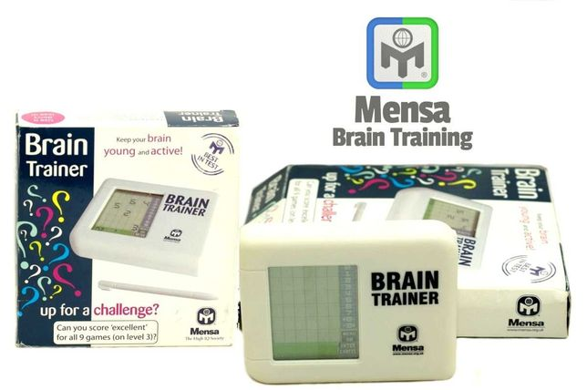 Elektroniczny trener umysłu - Brain Trainer Mensa The High IQ Society
