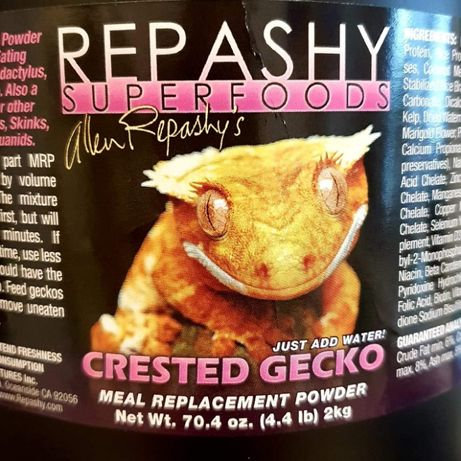 Repashy Crested Gecko - karma instant dla gekon orzęsiony, najtaniej