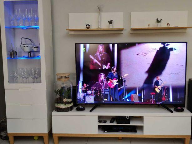 Meble do salonu, witryna, szafka RTV, półki