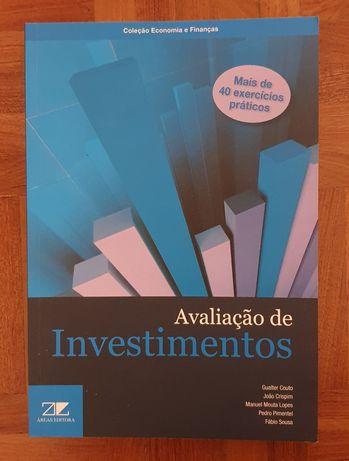 Livro Avaliação de Investmentos Mais de 40 exercícios prácticos NOVO