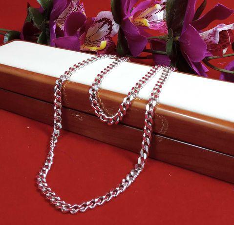 Wyjatkowy srebrny łańcuszek 28,52G