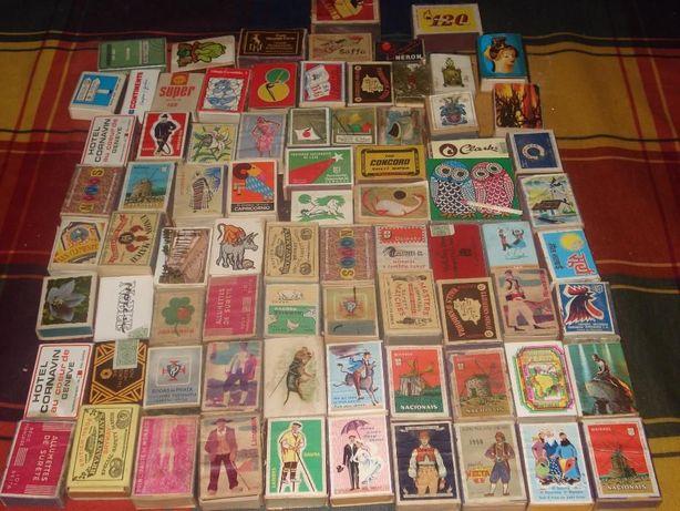 coleção de caixas 80