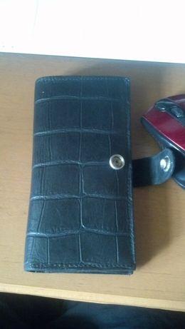 мужской бумажник\визитница\портмоне