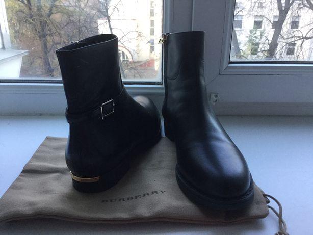 41 размер Ботинки,BURBERRY,оригинал