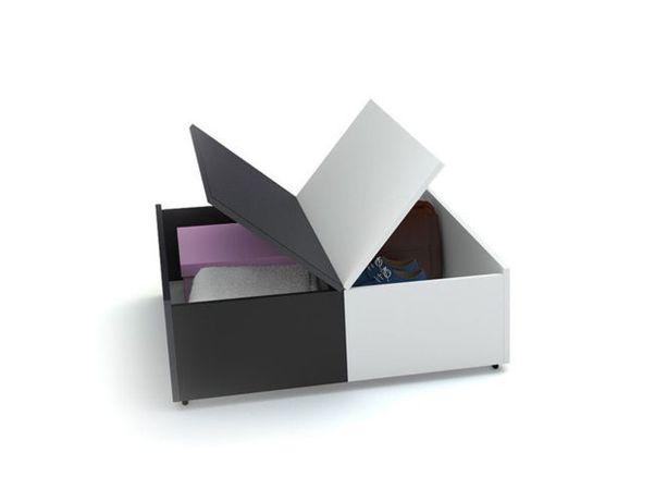 Vox Youngs Users Eco - stolik czarno-biały
