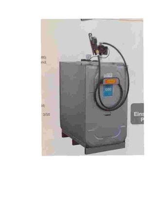 Zbiornik CEMO dwupłaszczowy UNI-TANK Premium1000 L