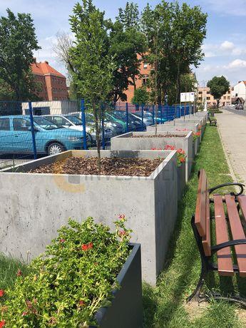 Donice ogrodowe z betonu architektonicznego 120x120x120 - Duży wybór