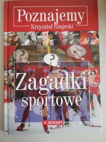 Książka poznajmemy zagadki sportowe