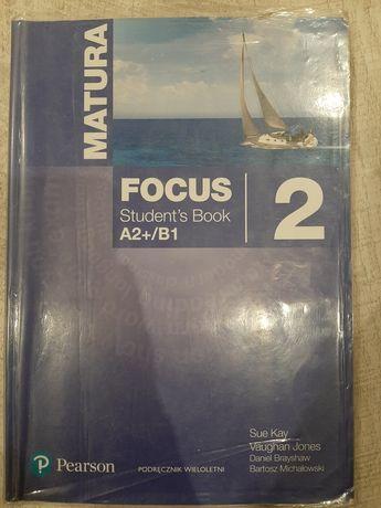 Focus 2 podręcznik język angielski A2+/B1