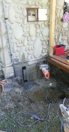 Cięcie i wiercenie otworów w betonie