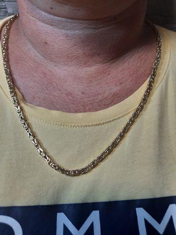 Łańcuszek złoty wzór krolewski