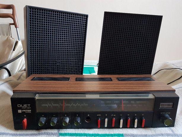 Świetne radio Unitra wraz z głośnikami z roku 1978