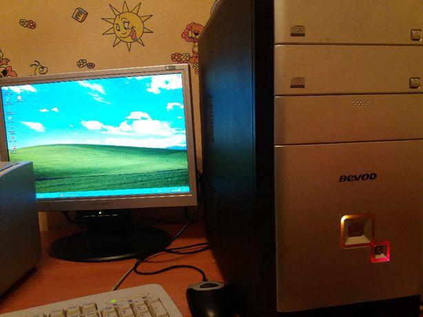 """Продам компьютер+ монитор 17"""""""