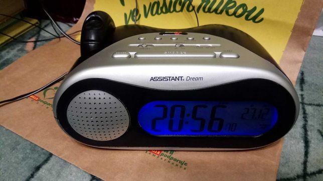 Радио часы будильник Assistant