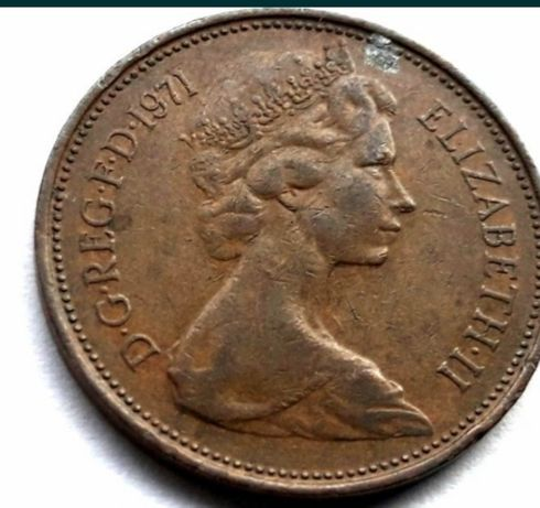 2 New PENCE 1971 r
