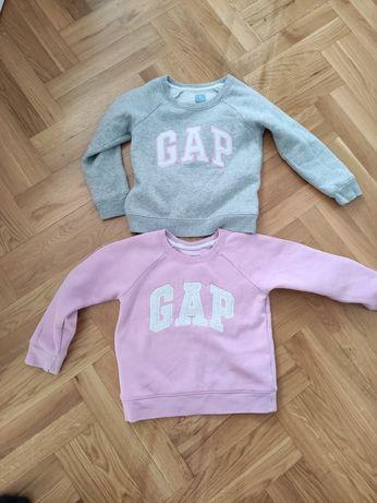 Bluza GAP 4 latka dziewczynka 2 sztuki