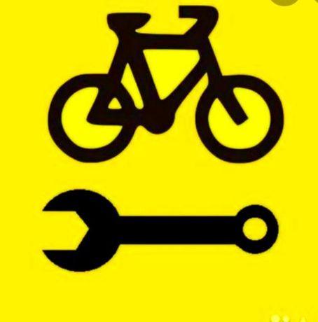 Ремонт велосипедов самокатов