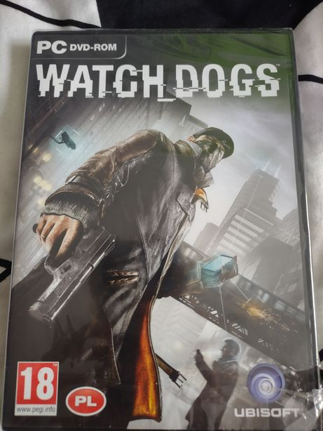 Gra Watch Dogs nowa w folii na PC