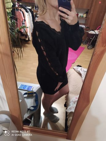 Sukienka czarna rozm M/L