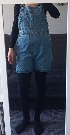 Spodnie ogrodniczki krótkie ciążowe jak h&m hm mama na ciążę