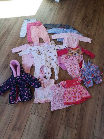 Paka ubranek dla niemowlaka 74-80