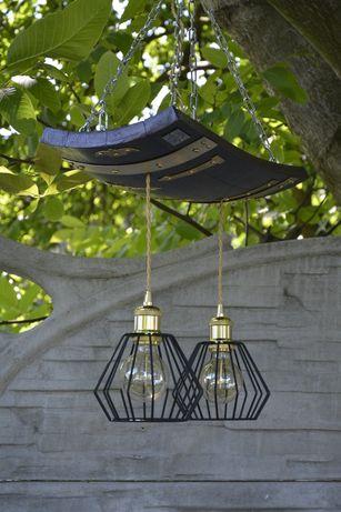 Oryginalne lampy z beczki dębowej Bieniasz Barrels
