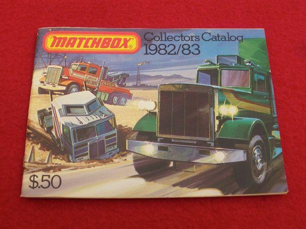 Catálogo Matchbox 1982/1983