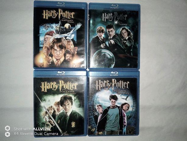 Harry Potter 4 filmy lata 2001-07 BLU-RAY