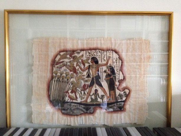 Quadros com papiros