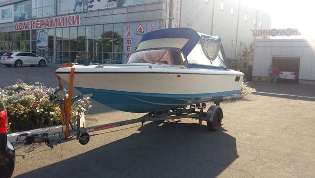 Катер лодка Tullio Abbate + мотор подвесной Suzuki 115