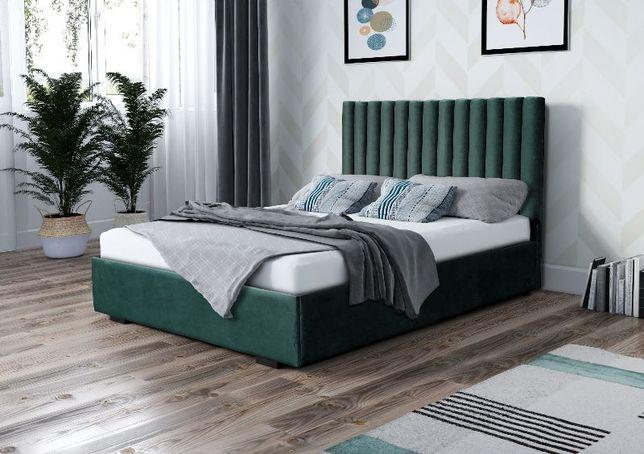Łóżko tapicerowane VENUS 180x200 z materacem i stelażem. Beata-Meble
