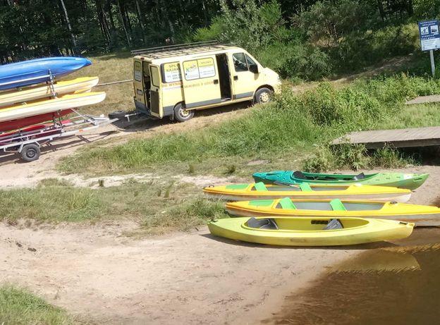 Spływy Kajakowe oraz Loty Widokowe Motolotnią