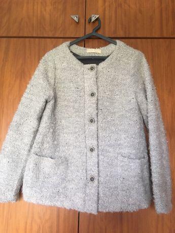 Casaco cinzento Zara
