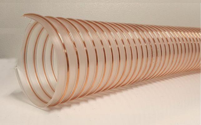 Wąż do dmuchawy PUR-L 160, Wąż do zboża PUR-L fi 160 gr. 0,7 mm