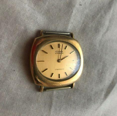 Часы наручные швейцарские Cyma Chambord винтаж