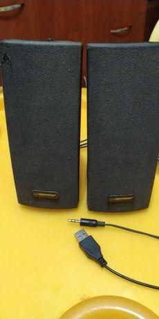 Колонки ESPERANZA EP120 Alto Black, мультимедийная акустика для ПК
